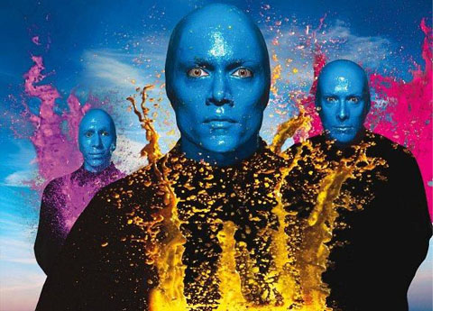 LAS VEGAS-Blue Man-01