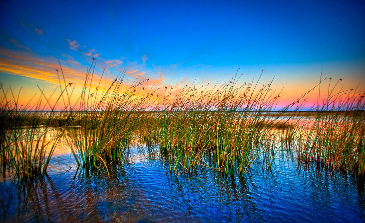 East Lake Tohopekaliga at Sunset St Cloud Florida